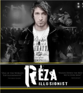 Reza - America's Top Magician and Illusionist