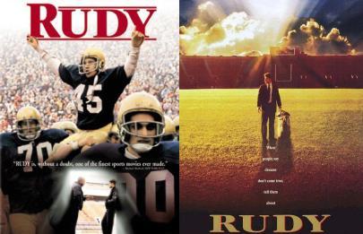 Motivational Public Speaker Daniel Rudy Ruettiger from the movie Rudy